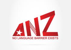 Thiết kế logo thương hiệu Dịch thuật ANZ Việt Nam