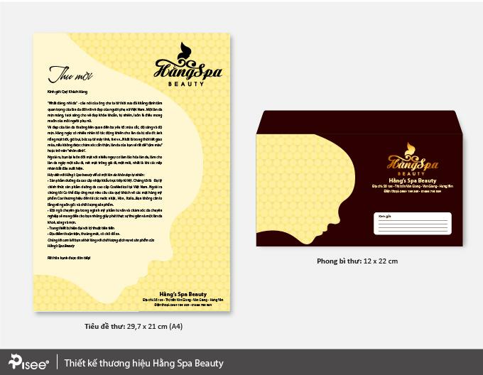 thiết kế letterhead và phong bì
