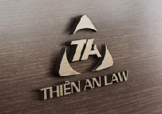 Thiết kế logo thương hiệu Luật Thiên An