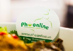 Thiết kế logo thương hiệu Phở Online