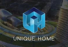Thiết kế logo thương hiệu Kiến trúc Unique Home