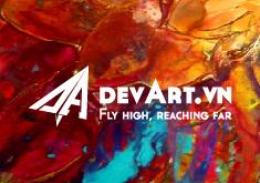 Thiết kế logo thương hiệu devART