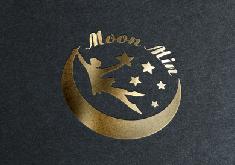 Thiết kế logo thương hiệu Moon Min Club Dance