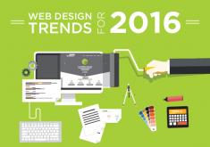 5 xu hướng thiết kế web bùng nổ trong năm 2016