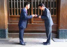 Tìm hiểu văn hóa Nhật Bản qua trao đổi danh thiếp