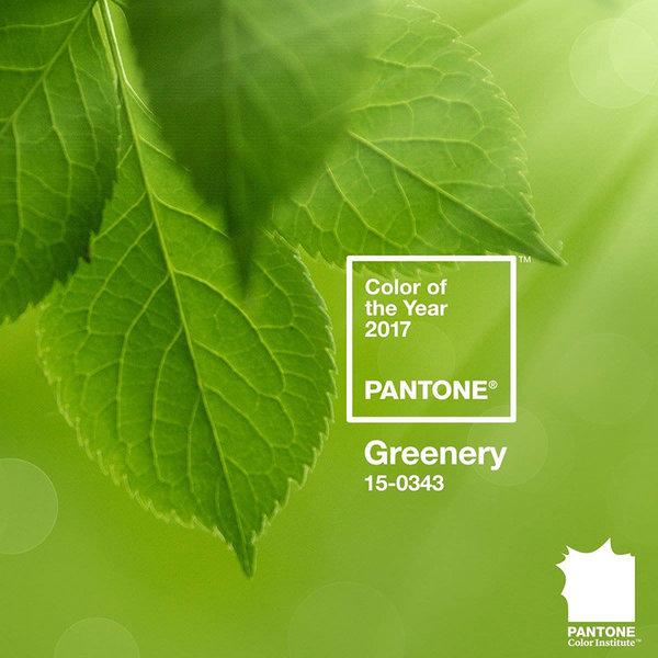 Greenery - Sắc màu tươi mới cho năm 2017