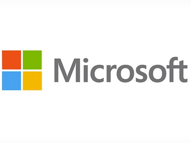 hình vuông trong thiết kế logo microsofts